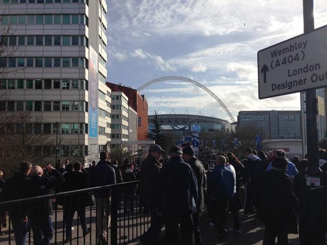 Towards Wembley
